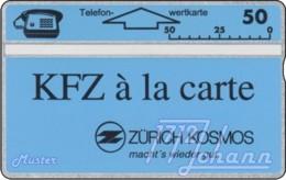 """TWK Österreich Privat: """"Zürich Kosmos 1"""" (311L) Gebr. - Oesterreich"""