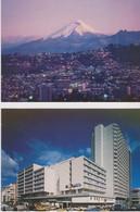 Quito, 2 Cartes Postales Non Circulée. Equateur. - Equateur