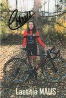Cyclisme, Laetitia Maus - Wielrennen