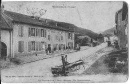 WISEMBACH 88 VOSGES LA GRANDE RUE VERS L'ALSACE GENDARMERIE EDIT WEICK - Sonstige Gemeinden