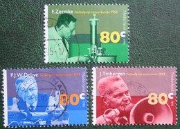Nobelprijswinnaars NVPH 1653-1655 (Mi 1553-1555); 1995 Gestempeld / USED NEDERLAND / NIEDERLANDE - 1980-... (Beatrix)
