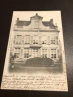 Ieper - Ypres  - Chateau De St Pierre  - Ed. Callewaert-De Meulenaere - Gelopen 1902 - Ieper