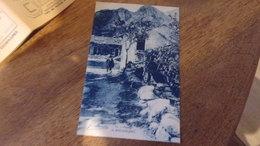 CORSE SUD  19 PAYSAGE DE BOCOGNANO HOMME FERME CHEMIN - Francia