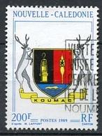Nouvelle Calédonie - Neukaledonien - New Caledonia 1989 Y&T N°573 - Michel N°843 (o) - 200f Armoirie De Koumac - Used Stamps