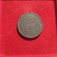 Belgio 5 Franchi  1946 - 1945-1951: Reggenza