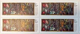 Brazil Stamp C 3877 Selo Relações Diplomáticas Brasil Finlândia Arte 2019 Quadra RT BY EILA AMPULA FINLAND BLOCK OF 4 - Brazilië