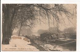 92 - ASNIERES - Les Bords De La Seine, L'Hiver. - Asnieres Sur Seine