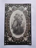 Joseph Dusart Roux 1821-1859 / Belle Gravure Pieuse - Décès
