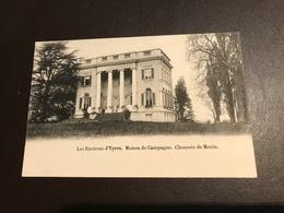 Ieper -  Les Environs D'Ypres - Maison De Campagne - Chaussée De Menin Menen (Maison De Mr Biebuyck) - Ieper