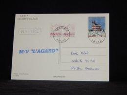 Aland 1994 Kaskinen M/V L'Agard An Card__(L-33817) - Aland