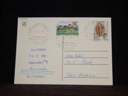 Aland 1998 Vaasa M/s Fennia Card__(L-32746) - Aland
