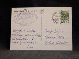Aland 1999 Lumparland M/S Silja Festival Card__(L-32696) - Aland