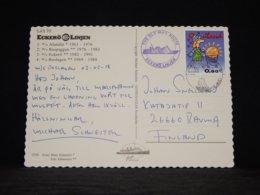 Aland 2003 Eckerö Eckerö Linjen Card__(L-32878) - Aland