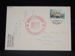 Aland 2003 Mariehamn Birka Princess Card__(L-32932) - Aland