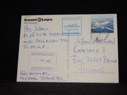 Aland 2007 Eckerö M/S Roslagen Card__(L-32798) - Aland