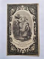 Anne-Marie Staumont Ursulines à Bruxelles 1811-1854 / Belle Gravure Pieuse - Décès
