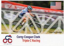 Cyclisme, Corey Coogan Cisek - Wielrennen