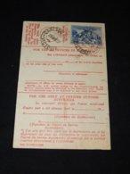 Australia 1937 Carlton Card__(L-31710) - 1913-48 Kangaroos