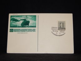 Austria 1933 Wipa Cancellation Card__(L-33159) - 1918-1945 1a Repubblica
