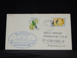 Bahamas 1990 MS Vistafjord Paquebot Cover__(L-34041) - Bahama's (1973-...)