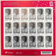 Brazil Stamp C 3878 Selo Mulheres História Aracy Guimarães Rosa 2019 Folha Women Has Made History SHEET - Brazilië