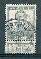 115 Gestempeld KORTRIJK - COUTRAI 1G - 1912 Pellens