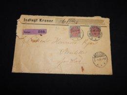 Denmark 1899 Korsör Indlagt Kroner Cover__(L-31715) - 1864-04 (Christian IX)