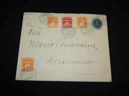 Denmark 1906 Viborg Stationery Envelope__(L-31552) - Interi Postali