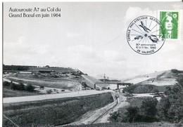 Carte Autoroute A7  Cercle Philatélique Sextant Avionique  Valence 1990 - 1990-99