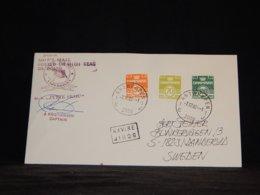 Denmark 1982 Antwerpen M.s. Jytte Skou Navire Cover__(L-34010) - Lettere