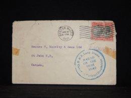 Dominica 1933 Boston Paquebot Cover To Canada__(L-32455) - Dominica (1978-...)