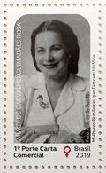 Brazil Stamp C 3878 Selo Mulheres História Aracy Guimarães Rosa 2019 Women Have Made History - Brazilië