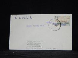 Fiji 1980 Nadi Cover To UK__(L-33878) - Fiji (1970-...)