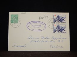 Finland 1964 Karlskrona M.S. Hansa Express Navire Cover__(L-32628) - Finland