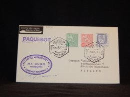 Finland 1979 Cartagena M.T. Hugo Paquebot Cover__(L-33431) - Lettres & Documents