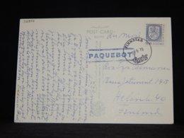 Finland 1979 Finnstar Paquebot Card__(L-32837) - Finland