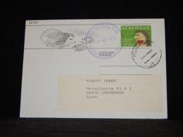 Finland 1991 Tallinn M/S Georg Ots Stationery Card__(L-32760) - Finlande