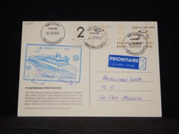 Finland 2002 Helsinki SuperSeaCat VII Navire Card__(L-32930) - Lettres & Documents