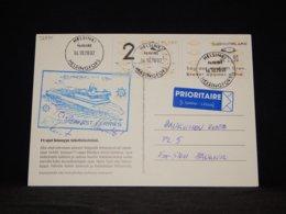 Finland 2002 Helsinki SuperSeaCat VII Navire Card__(L-32930) - Briefe U. Dokumente
