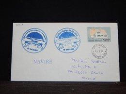 Finland 2004 Tallinn MS Victoria I Navire Cover__(L-32576) - Briefe U. Dokumente