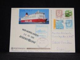 Finland 2005 Helsinki M/S Nordlandia Navire Card__(L-33617) - Finlandia