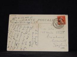 France 1910 Marseille S.S. Egypt Ship Mail Postcard To UK__(L-33996) - France