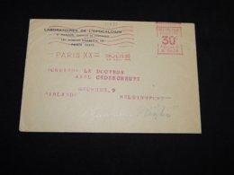 France 1930 Paris Meter Mark Cover To Finland__(L-31833) - Frankrijk