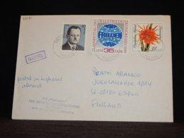 Germany (Democratic Republic) 1990 Tolkkinen MS Nienhagen Navire Cover__(L-33181) - Covers & Documents