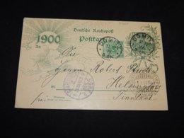 Germany 1900 Dömitz 5pf Green C To Finland__(L-31263) - Deutschland