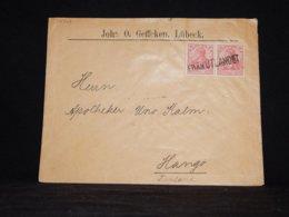 Germany 1902 Från Utlandet Cover To Finland__(L-32343) - Allemagne