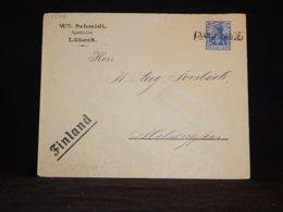 Germany 1910 Från Utlandet Cover To Finland__(L-32342) - Allemagne