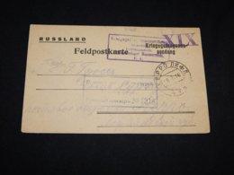Germany 1916 Hammerstein War Prisoner Card To Estonia__(L-31768) - Germania