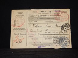 Germany 1925 Köln Meter Mark Cover To Finland__(L-32340) - Covers & Documents