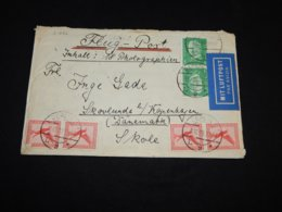 Germany 1928 Berlin Air Mail Cover To Denmark__(L-31886) - Luftpost